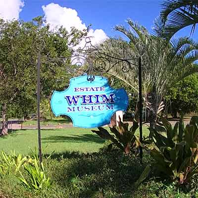 Whim Plantation on St. Croix, U.S. Virgin Islands