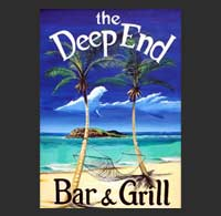 Deep End Restaurant st croix virgin islands scuba