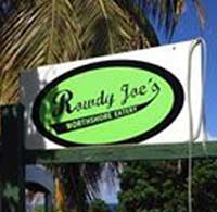 Rowdy Joe's restaurant st croix virgin islands SCUBA