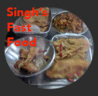 Singh's Fast food local restaurant st croix virgin islands