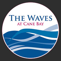 Waves at Cane Bay St Croix Virgin Islands