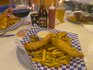 Flyers restaurant st croix virgin islands