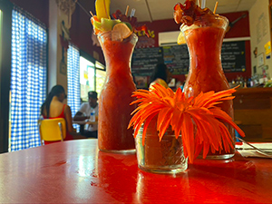 Toast Diner restaurant st croix virgin islands
